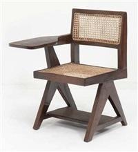 chaise d'amphithéatre by pierre jeanneret