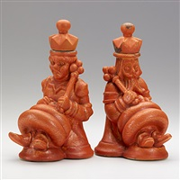 bookends (pair) by waylande gregory