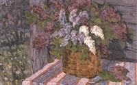 lilas à la fenêtre by vladimir bobrov
