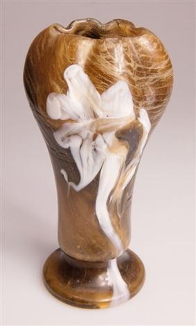 vase marqueterie de verre by émile gallé