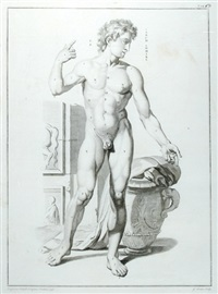 anatomical study of a standing male figure by gérard jean baptiste scotin the younger