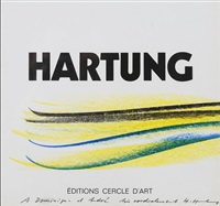 page de garde de catalogue by hans hartung