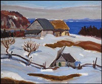 north shore, lower st. lawrence by randolph stanley hewton