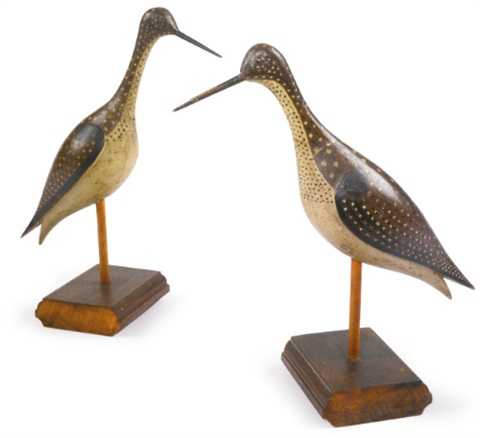greater yellow legs decoys 2 works by joseph lincoln