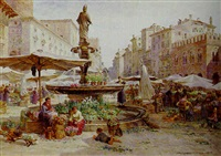 the piazza verona by samuel john hodson