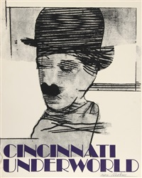 cincinnati underworld - charlie chaplin by richard marshall merkin