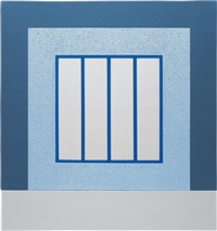 blue prison by peter halley