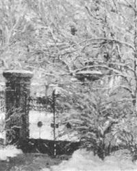 winter gateway by mathias sandor