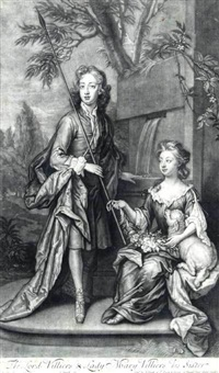 the lord villiers and lady mary villiers his sister by john smith