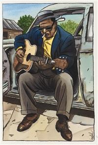 bluesman by jacques de loustal