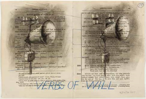 verbs of will by william kentridge