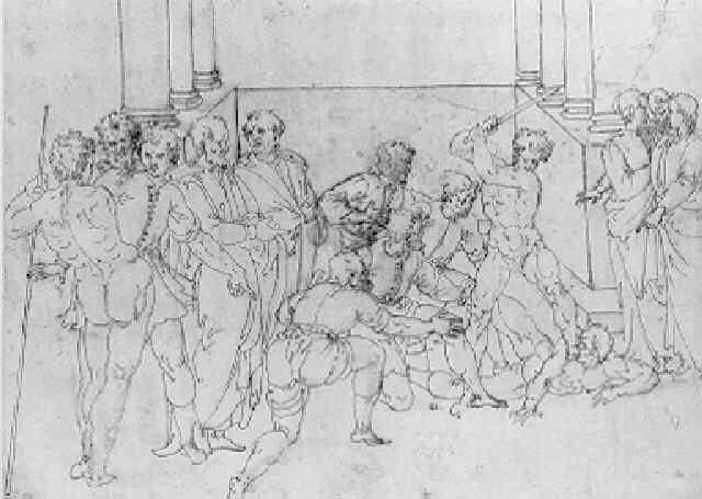 scène de martyr by ercole setti