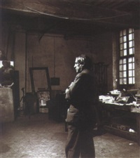 picasso dans son atelier, rue des grands augustins, paris by peter rose pulham