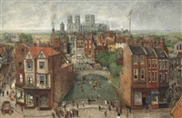 york festival triptych by richard eurich