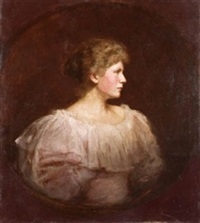 retrato de dama de perfíl by fernando alvarez de sotomayor y zaragoza