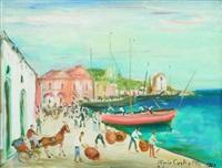 ischia, il vecchio porto by mario cortiello