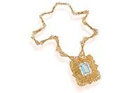 a pendant necklace by stittgen