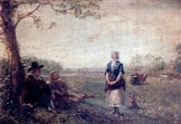 the milkmaid's song by walter field