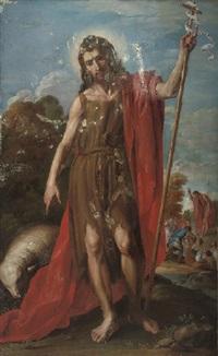 saint john the baptist by josé (jusepe) leonardo de chavier