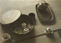 teacups and kettles by shikanosuke yagaki