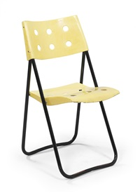 folding chair, model no. 1-115 z by walter frey