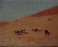 le retour du troupeau by louis-ferdinand antoni
