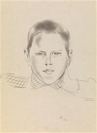portrait of mikhail tolstoy by nikolai pavlovich akimov