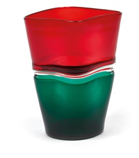 vase doppio incalmo by fulvio bianconi