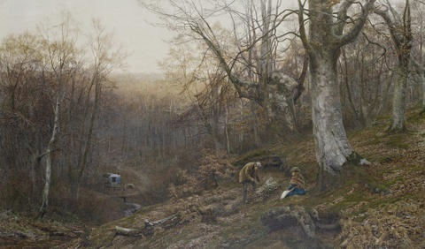 the wood gatherer by walter follen bishop
