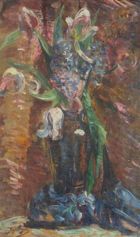 bouquet de fleurs by georgette agutte