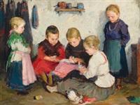 spielende kinder by ferenc gaal
