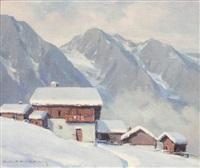haute vallée de la viège by charles henry contencin