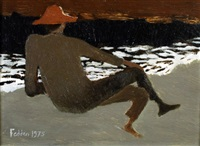 julian on the beach by mary fedden