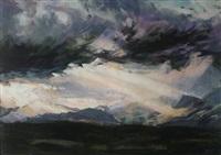 untitled (storm over eryri) by aled prichard-jones