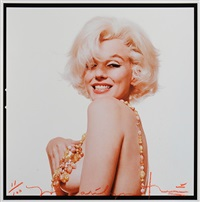 marilyn boob smile pour vogue, the last sitting by bert stern