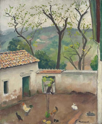 le coq by albert marquet
