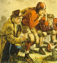 football coach sending in replacement player by albert l. dorne