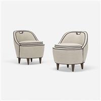 lounge chairs, pair by gio ponti
