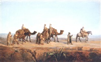 la caravane en marche by françois lauret