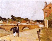 pont aux arches by eugene markov