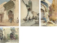 at the gateway to a mosque by henry simpson
