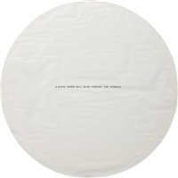 a white paper will blow through the streets by james lee byars