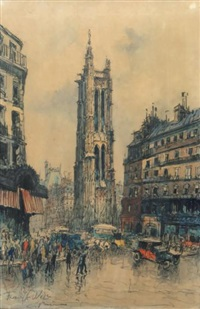 le beffroi du châtelet by frank-will