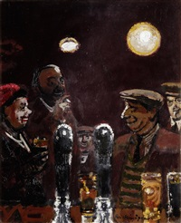at the bar by ruskin spear