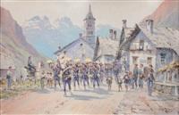 la fanfare des chasseurs alpins by bernard rambaud