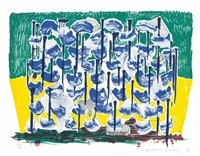 slow forest, from some new prints by david hockney