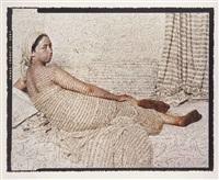 les femmes du maroc: grande odalisque by lalla essaydi