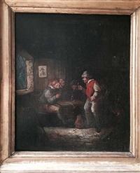 scène d'auberge by egbert van heemskerck