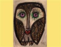 owl by celestino piatti