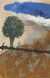 barbed wire paradise by ben shahn